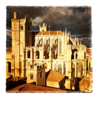 Polaroid-Narbonne-Cathedrale-POL009