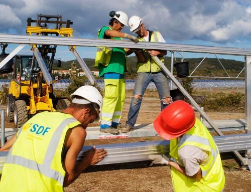 Photographie industrielle – Centrale photovoltaïque de Salsigne